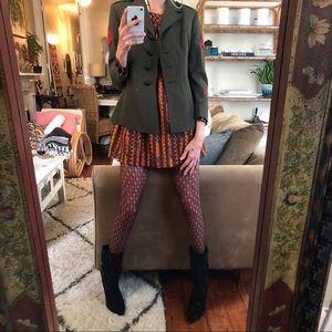 Vintage women's military blazer